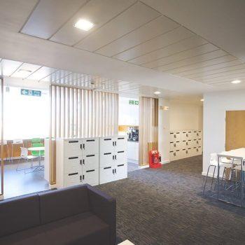 Office interiors Norfolk