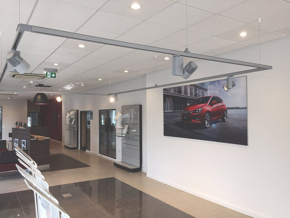 Commercial suspended ceilings