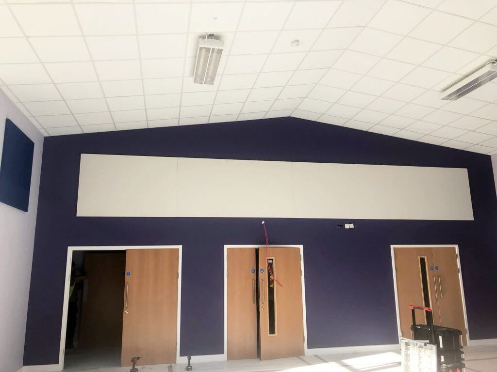 acoustic panel for wall