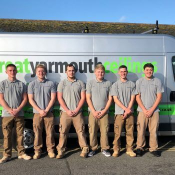Great Yarmouth Ceilings apprentices